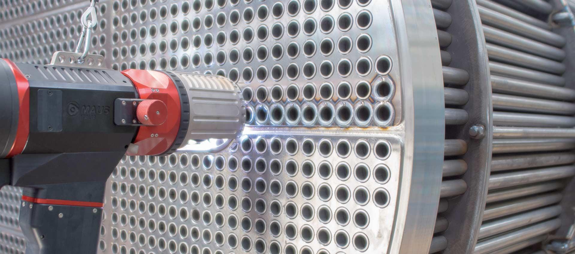 Сварочное оборудование для труб и трубных решеток теплообменных аппаратов