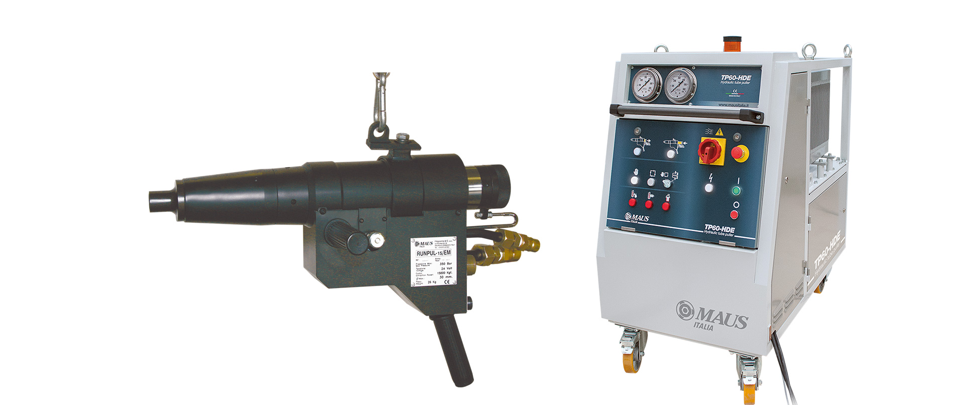 Maus italia estrattore di tubi runpul for Tipi di tubi utilizzati nell impianto idraulico