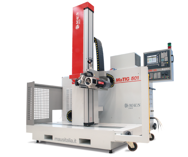 MaTIG-501 Maus Italia - Automatic positioning tube to tube sheet TIG orbital welding system