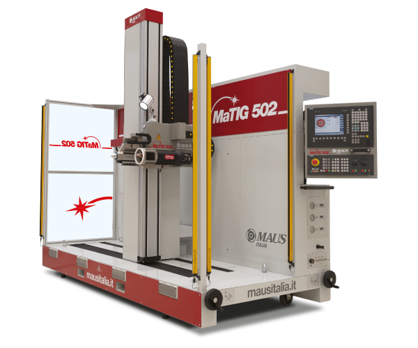 MaTIG 502 - Automatic positioning tube to tubesheet TIG orbital welding system